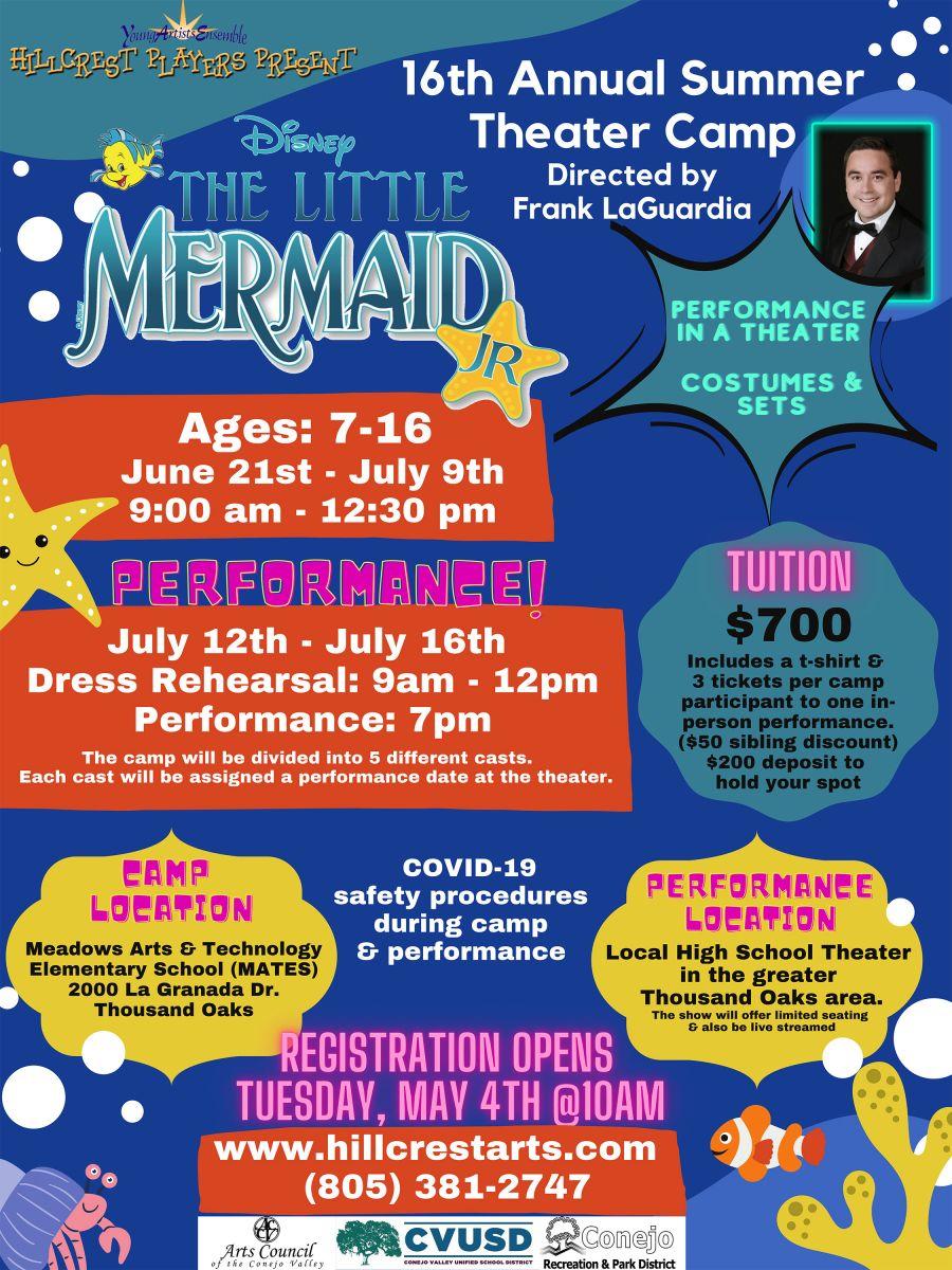Mermaid-Summer-Camp flyer